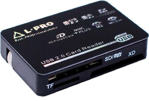 Картридер L-PRO 1138 черный