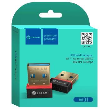 Wi-Fi адаптер W01 150MB/S...
